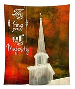 The King Of Majesty Tapestry