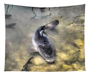 The King Of The Pond Tapestry