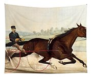 The King Of The Turf Tapestry