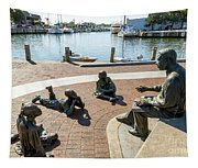 The Kunta Kinte-alex Haley Memorial In Annapolis Tapestry