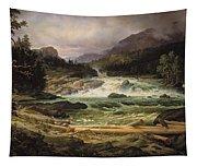 The Labro Falls At Kongsberg Tapestry