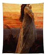 The Lament Of Jephthahs Daughter Tapestry