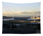 The Land Of Geysers. Yellowstone Tapestry
