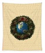 The Language Of Christmas 2 Tapestry