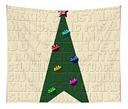 The Language Of Christmas Tapestry