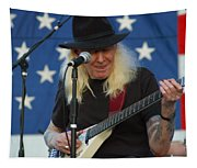 The Late Great Johnny Winter Tapestry