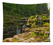 The Ledges Waterfalls Tapestry