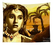 The Legend Actress Madhubala Tapestry