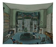 The Library, C.1820, Battersea Rise Tapestry