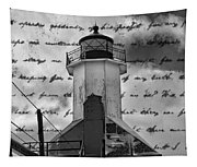 The Lighthouse Poem Tapestry