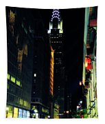 The Lights Of New York City Tapestry