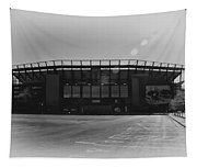 The Linc In Black And White Tapestry