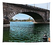 The London Bridge Is In Arizona Tapestry