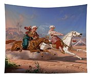 The Love Chase Tapestry