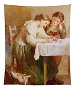 The Love Letter, 1871 Tapestry