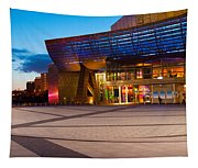 The Lowry Complex At Dusk, Salford Tapestry