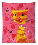 The Lucky Cat Tapestry