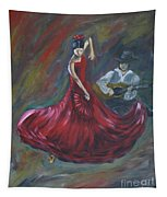 The Magic Of Dance Tapestry