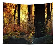 The Magic Of The Forest  Tapestry