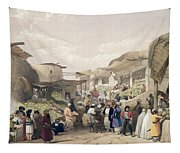 The Main Street In The Bazaar Tapestry