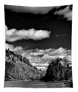 The Majestic Bald Mountain Pond  Tapestry