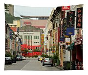 The Majestic Theater Chinatown Singapore Tapestry