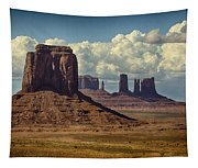 The Majesty Of Monument Valley  Tapestry