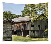 The Mathias Homestead Built In 1797 At Mathias West Virginia Tapestry