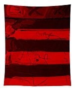 The Max Face In Red Tapestry