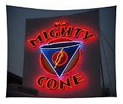 The Mighty Cone Of Austin Texas Tapestry