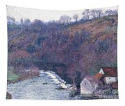 The Mill At Vervy Tapestry