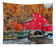 The Mill In Clinton Tapestry