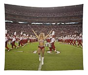 The Million Dollar Marching Band Of The University Of Alabama Tapestry