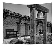 The Mission Bell B/w Tapestry