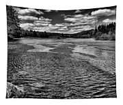 The Moose River At The Green Bridge II Tapestry