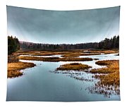 The Moose River - Old Forge New York Tapestry