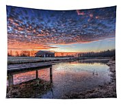 The Morning Sky Tapestry