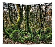 The Mossy Creatures Of The  Old Beech Forest 1 Tapestry