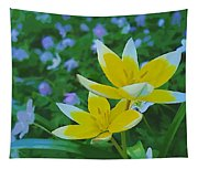 The Most Beautiful Flowers Tapestry