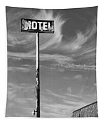 The Motel Bw Palm Springs Tapestry