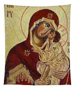 The Mother Of God -the Don Icon Tapestry