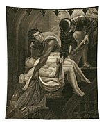 The Murder Of The Two Princes Tapestry