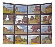 The Mystery Of Tides Photo Assemblage Tapestry
