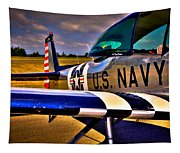 The North American L-17 Navion Aircraft Tapestry