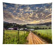 The Old Farm Lane Tapestry