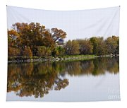 The Old Fishing Hole  Tapestry