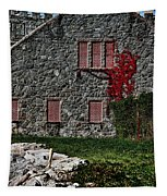 The Old Fort Bristol Rhode Island Tapestry