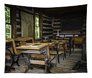 The Old Mikado Bailey School House Tapestry