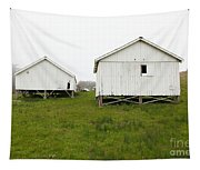The Old Pierce Point Ranch At Foggy Point Reyes California 5d28140 Tapestry