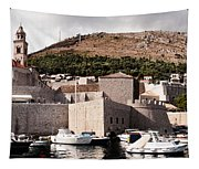 The Old Port Under The Ramparts Tapestry